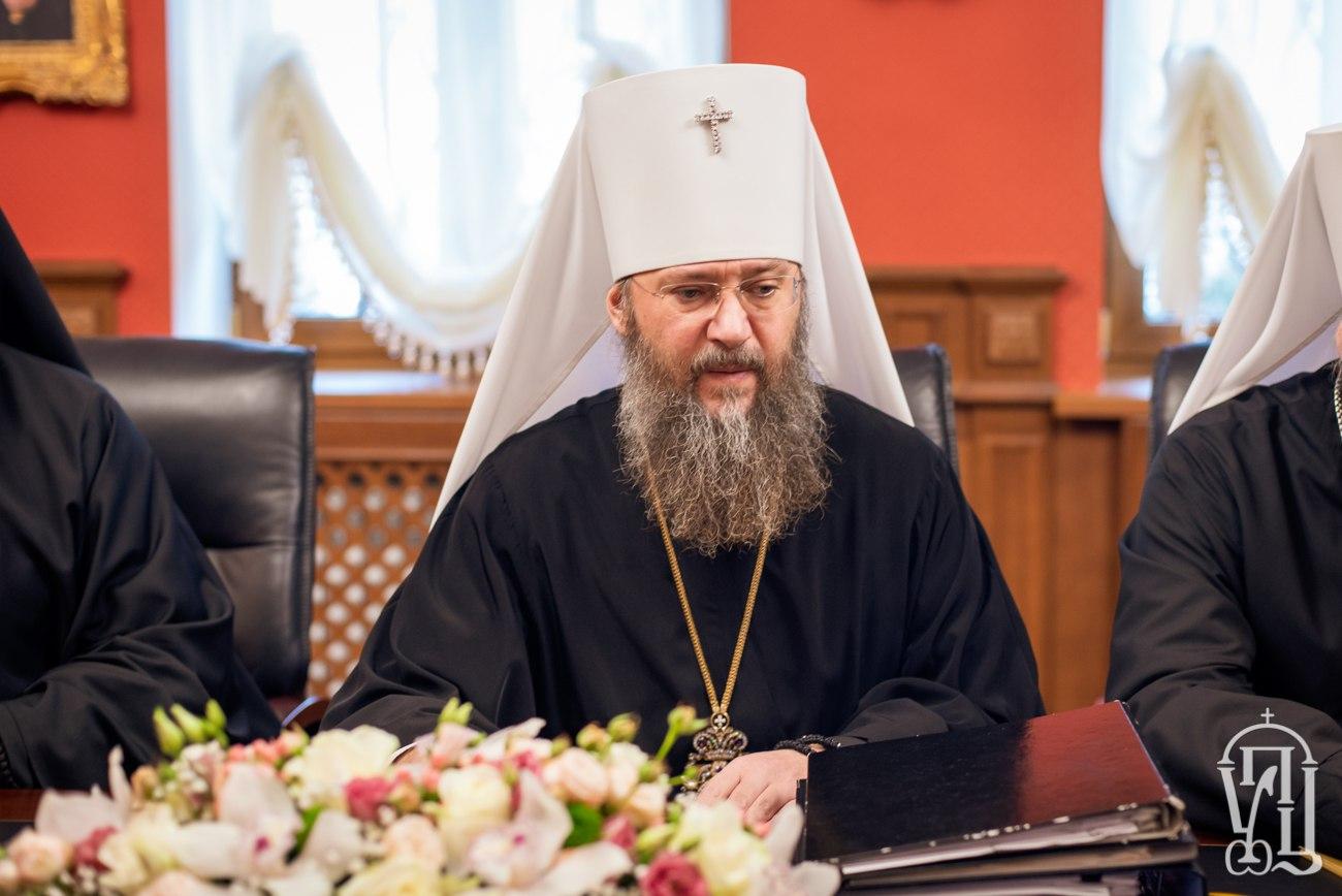 Управляющий делами УПЦ митрополит Антоний: Разделение гораздо страшнее коронавируса
