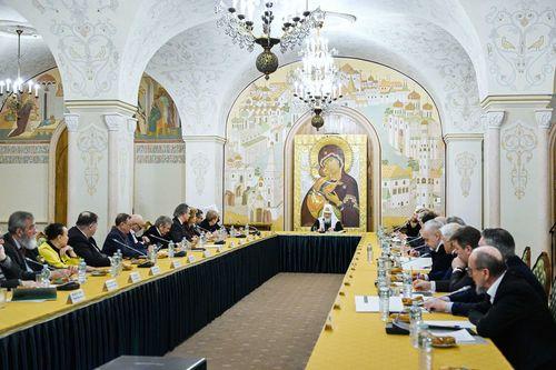 Патриарх Кирилл возглавил заседание Патриаршего совета по культуре