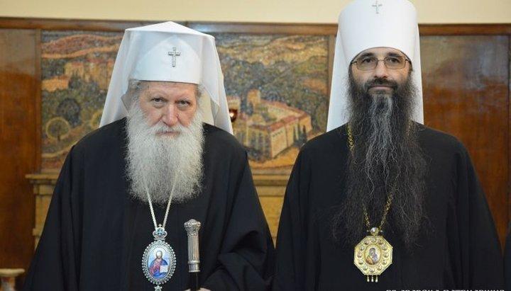 Патриарх Болгарский Неофит встретился с митрополитом Варсонофием