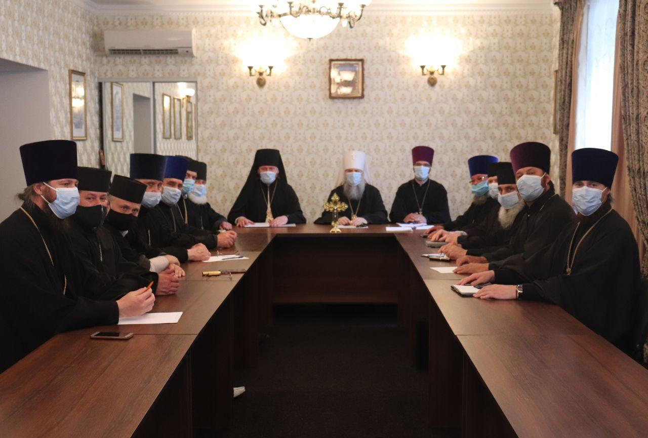 Відбулося засідання Єпархіальної ради Тульчинської єпархії