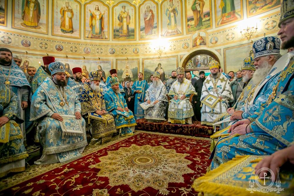 Митрополит Тульчинський і Брацлавський Іонафан та єпископ Ладижинський Сергій взяли участь в святкововому богослужінні у Київському Свято-Введенському чоловічому монастирі