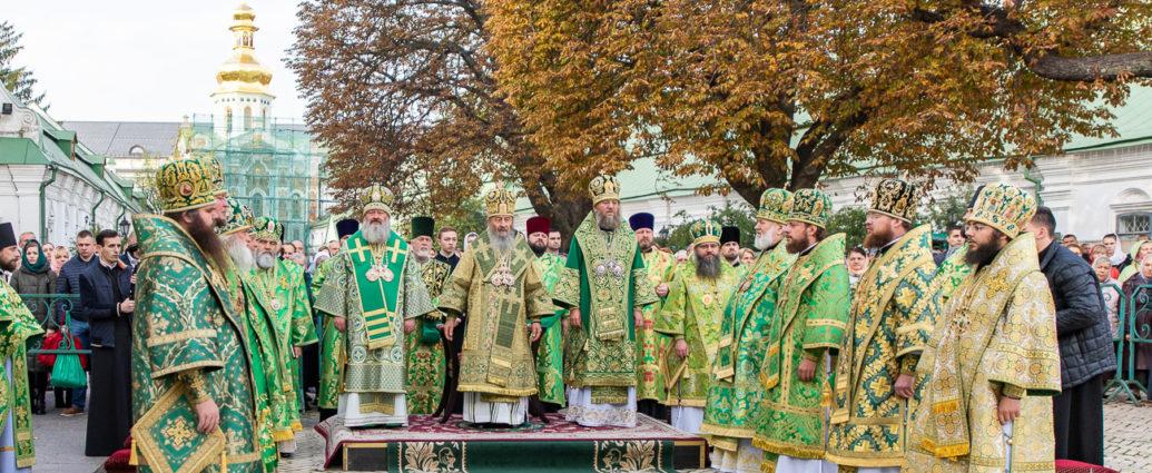 Преосвященний Сергій взяв участь у святкових богослужіннях з нагоди свята Собору преподобних отців Ближніх печер