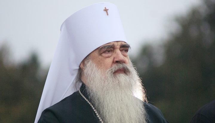 Упокоился митрополит Филарет (Вахромеев) – бывший экзарх РПЦ в Беларуси