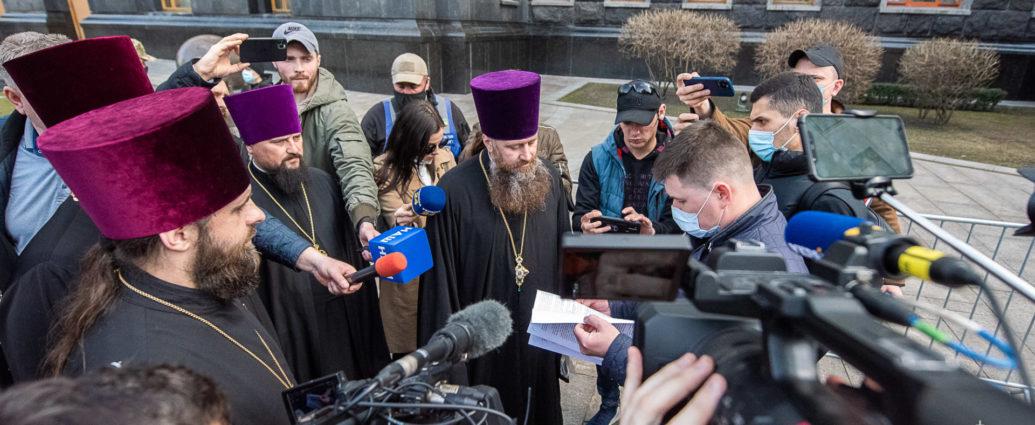 В Офісі Президента зареєстрували Звернення від мільйонів віруючих УПЦ щодо законопроектів, які порушують їхні права