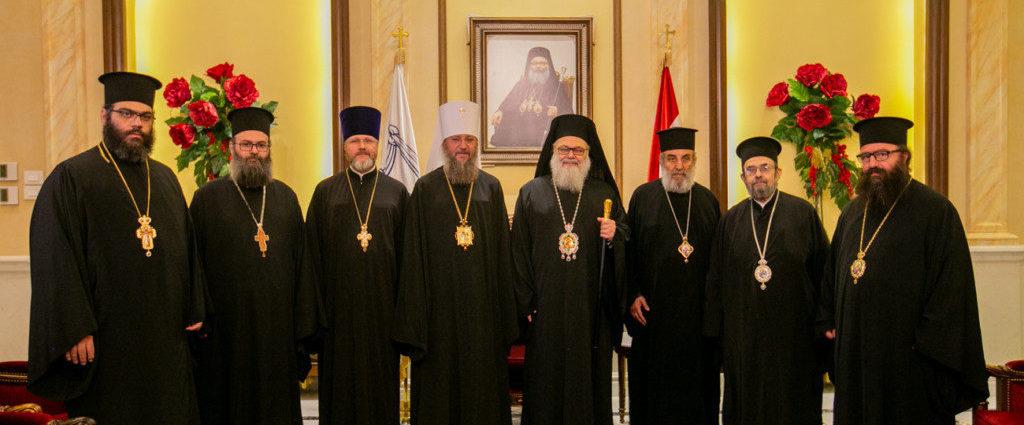 Керуючий справами УПЦ зустрівся з Патріархом Антіохійським Іоанном