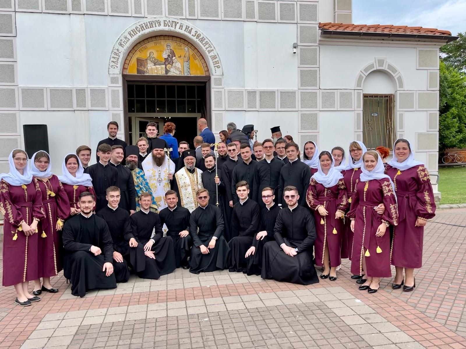 Хор КДАіС виступив на Міжнародному фестивалі православної музики «Достойно єсть» у Болгарії