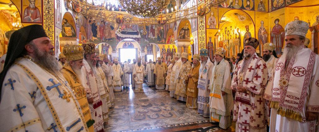 Делегація УПЦ взяла участь в інтронізації Митрополита Іоаннікія на Престол святого Петра Цетінського