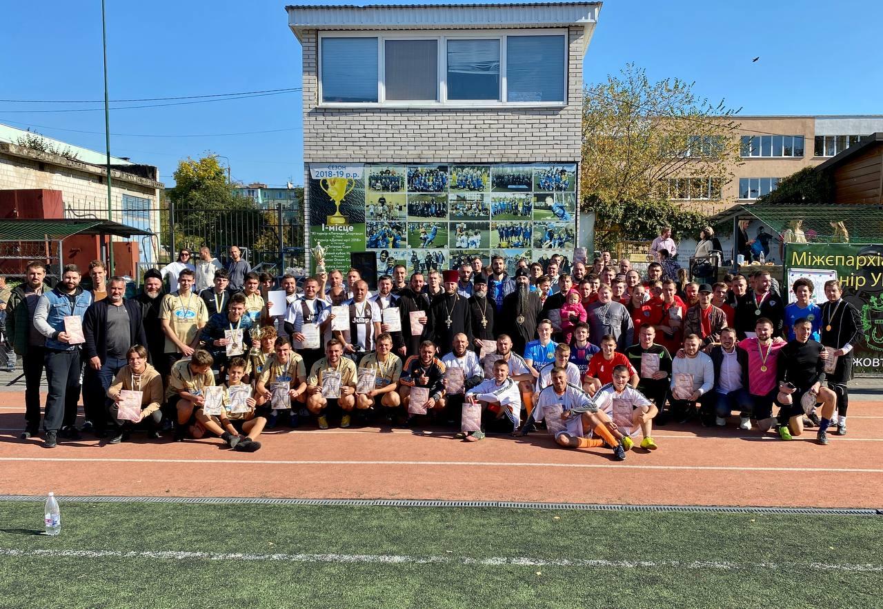 Команда з Тульчинської єпархії взяла участь у міжєпархіальному футбольному турнірі